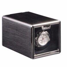ขาย Viwiays อลูมิเนียมสีดำนาฬิกาอัตโนมัติแบบเดี่ยวแสดงกรณี มอเตอร์ Japan เป็นต้นฉบับ