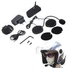 ขาย Allwin V6 1200 เมตร หูฟังอินเตอร์คอมบลูทูธสำหรับหมวกนิรภัยรถจักรยานยนต์ เป็นต้นฉบับ