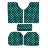 Vrj Car Accessories พรมปูพื้นลายหมากรุก พรมซิ่ง 5ชิ้น Free Size Green กรุงเทพมหานคร