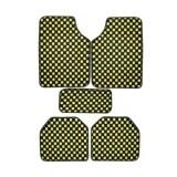 ส่วนลด Vrj Car Accessories พรมปูพื้นลายหมากรุก พรมซิ่ง 5ชิ้น Free Size Yellow Vrj Car Accessories กรุงเทพมหานคร