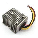 ซื้อ Waterproof Dc Dc 12V 24V To 5V 10A 50W Buck Converter Car Display Power Supply Module Silver Unbranded Generic