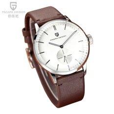 ซื้อ Pagani New Fashion Waterproof Watch Leather Men S Business Watch Casual Quartz Wristwatch Popular ถูก ใน จีน