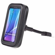 Waterproof Motorcycle Rear View Mirror Mount Case For Cellphones Smart Phones Intl ใหม่ล่าสุด