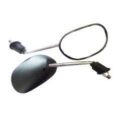 ขาย กระจกมองข้างทรงเดิมWave110I Wave125 Click Click I 09 Air Blade สำหรับรถจักรยานยนต์ หรือ มอเตอร์ไซค์ สีดำ ขาชุบ ใหม่