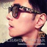 ราคา แว่นกันแดด แว่นกรองแสง Uv แฟชั่น เกาหลี ทรง Wayfarer Style รุ่น Stormcrazy (Multicolor Black) ออนไลน์