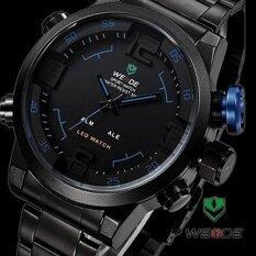 ราคา Weide นาฬิกาแฟชั่นชาย ดีไซน์สปอร์ต รุ่น Sport I Black สีดำ น้ำเงิน Weide ออนไลน์