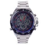 ราคา Weide Wh 1103 สมัยนิยมนาฬิกาข้อมือควอตซ์และนาฬิกาคู่นาฬิกาข้อมือ เงิน ดำ 1 X Cr2016 ใหม่ล่าสุด