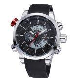 ราคา Weide Wh3401 1C นาฬิกาผู้ชาย สายซิลิโคน ใหม่