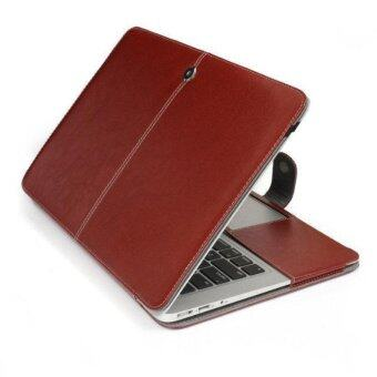 Welink PU Leather Case For Apple Macbook Pro 13 with retina\ (Brown)