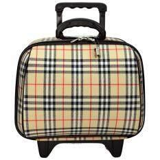 ทบทวน Wheal กระเป๋าเดินทางล้อลาก 14 นิ้ว Bb Scott Cream