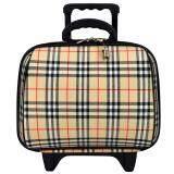 ราคา Wheal กระเป๋าเดินทางล้อลาก 14 นิ้ว Bb Scott Cream Wheal เป็นต้นฉบับ