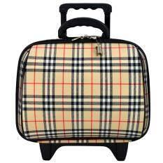 ราคา Wheal กระเป๋าเดินทางล้อลาก 14 นิ้ว Bb Scott Cream Wheal สมุทรปราการ