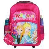 ซื้อ Wheal กระเป๋าเป้มีล้อลากสำหรับเด็ก เป้สะพายหลังกระเป๋านักเรียน 16 นิ้ว รุ่น Princess 07216 Pink ออนไลน์ กรุงเทพมหานคร