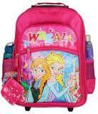 ขาย Wheal กระเป๋าเป้มีล้อลากสำหรับเด็ก เป้สะพายหลังกระเป๋านักเรียน 16 นิ้ว รุ่น Princess 830116 Pink Wheal ถูก
