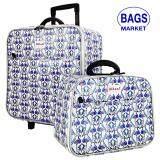 ส่วนลด Wheal กระเป๋าเดินทางเซ็ทคู่ 16 12 นิ้ว Code 604910 B Swan White Romar Polo ใน สมุทรปราการ