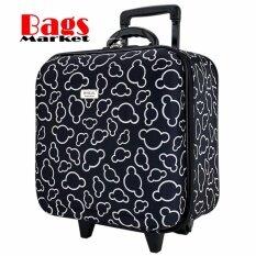 โปรโมชั่น Wheal กระเป๋าเดินทางหน้านูน กระเป๋าล้อลาก 16X16 นิ้ว Code 33516 Micky Mouse Black ใน สมุทรปราการ