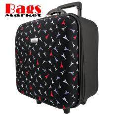 ขาย Wheal กระเป๋าเดินทางหน้านูน กระเป๋าล้อลากขนาด 16X16 นิ้ว Code Efp345 14 Little Eiffel Black ออนไลน์