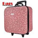 ซื้อ Wheal กระเป๋าเดินทางหน้านูน กระเป๋าล้อลาก 16X16 นิ้ว Code F33516 Micky Mouse Pink ถูก ไทย
