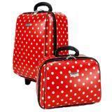 ซื้อ Wheal กระเป๋าเดินทางเซ็ทคู่ 18 14 นิ้ว Code 60018 3 B Point Red ออนไลน์ สมุทรปราการ