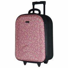 ราคา Wheal กระเป๋าเดินทาง กระเป๋าล้อลากหน้าโฟมขนาด 20 นิ้ว รหัสล๊อค Code F7720 Micky Mouse Pink