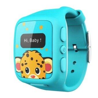 Wherecom KidFit Kids Phone Watch (Blue) - intl