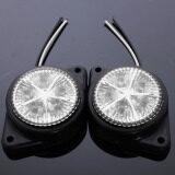 ทบทวน White Led Side Marker Lights Indicators Lamp Caravan Lorry Truck Trailer 12V 24V Intl Intl Unbranded Generic