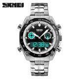 ส่วนลด ขายส่ง Skmei กีฬานาฬิกาผู้ชาย 30 เมตรนาฬิกากันน้ำแบบอิเล็กทรอนิกส์นาฬิกาหรูสแตนเลสนาฬิกาข้อมือแบบคู่ 1204 นานาชาติ