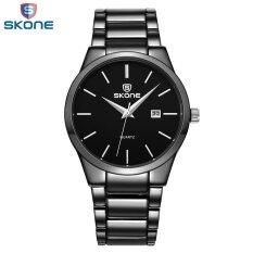 ขาย ซื้อ ขายส่ง Skone 4219 เสื้อยี่ห้อผู้ชายธุรกิจชายหรูหรานาฬิกาข้อมือแบบสบายๆเต็มรูปแบบปฏิทินนาฬิกาข้อมือนาฬิกาข้อมือ Es นาฬิกาควอตซ์นาฬิกาข้อมือ Es จีน
