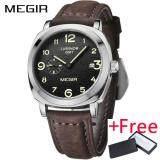 ขาย Wholesaler Megir Ml1046G Brand Business Watch นาฬิกาข้อมือ Fashion Luxury Leather Men Quartz Watch นาฬิกาข้อมือ Es Military Wristwatch นาฬิกาข้อมือ ใน จีน