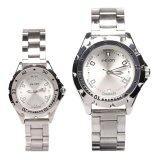 ราคา Wilon นาฬิกาข้อมือคู่รัก ชาย หญิง สีเงิน สายสแตนเลส รุ่น Wl 2507 เป็นต้นฉบับ