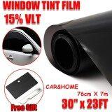 ส่วนลด Window Tint Film Black Commercial Car Truck Auto House Glass 76Cm X 7M Vlt 15 Intl Unbranded Generic