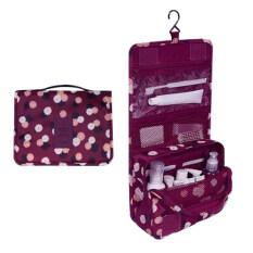 ราคา กระเป๋าใส่อุปกรณ์อาบน้ำ เครื่องสำอางค์ อเนกประสงค์ Wine Daisy ใหม่ล่าสุด