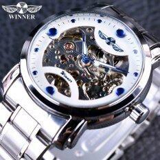 ราคา ผู้ชนะฟ้าแฟชั่นออกแบบสบายๆสแตนเลสผู้ชายนาฬิกาผู้ชายนาฬิกาอัตโนมัตินาฬิกานาฬิกา นานาชาติ เป็นต้นฉบับ