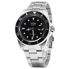 ขาย Winner W016 Men Automatic Watch Stainless Steel Band Black Intl ใน จีน