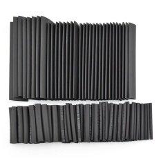 Womdee Heat Shrink Tubing ความร้อนท่อหดหลอด 127 ชิ้น (สีดำ), 7 ขนาด - นานาชาติ.