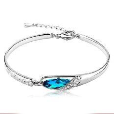 ขาย Women Bracelet Crystal Rhinestone Design Wrist Chain Jewelry Bohemian Bracelet Punk Bracelet Intl None