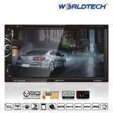 Worldtech Car Multimedia Wt Ddn889C Double Din 6 95 Led Backlight 16 9 Wide Screen 800X480 Pixel ใน กรุงเทพมหานคร