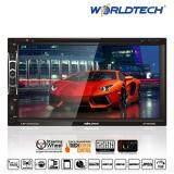 ส่วนลด เครื่องเล่นมัลติมีเดียร์ในรถยนต์ Worldtech รุ่น Wt Ddn889A Double Din 6 95 Led Backlight จอไวด์สกรีนขนาด 16 9 800X480 พิกเซล Worldtech
