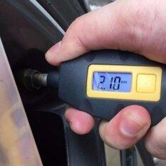 ทบทวน ที่สุด Wow ที่วัดลมยางดิจิตอล มีไฟ Backlight สีฟ้า อ่านง่าย แม้ใช้งานตอนกลางคืน Digital Tyre Pressure Guage