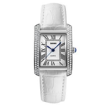 แบรนด์นาฬิกาแฟชั่นย้อนยุคผู้หญิงนาฬิกาหรูหนังสายผู้หญิงควอตซ์สบายๆกัน 1281-นานาชาติ