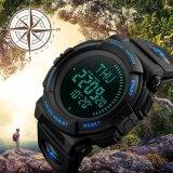 ซื้อ นาฬิกาแบรนด์นาฬิกาผู้ชายเข็มทิศกีฬานับถอยหลังเวลาฤดูร้อนนำดิจิตอลทหารมัลติฟังก์ชัน Wristwatches Relogio Masculino 1290 นานาชาติ Skmei เป็นต้นฉบับ