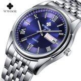 ขาย Wwoor 8802 Men Watches Top Brand Luxury Day Date Stainless Steel Band Luminous Clock Male Casual Quartz Watch Men Sport Wristwatch Intl ใหม่