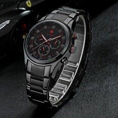 ซื้อ Wwoor Fashion Multi Function Luminous Quartz Analog Mens Watches Water Proof Business Man Wristwatch With 24H Week Date Display Watch Box Intl Unbranded Generic เป็นต้นฉบับ