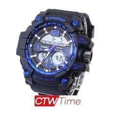 ขาย X Cooper นาฬิกาข้อมือ ทรงสปอร์ต ดิจิตัล สายยางเรซิ่น รุ่น Cp 1629Gq พะเยา