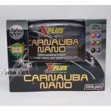 ราคา X Plus Carnauba Nano คาร์นูบา สูตรฟิล์มใยแก้ว สำหรับรถสีเข้ม ที่สุด