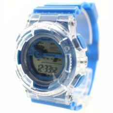 ขาย X Sport นาฬิกาข้อมือผู้หญิง ผู้ชายและเด็กสไตล์สปอร์ต เปลี่ยนไฟดิจิตอลได้ 7 สี สายยาง ระบบ Digital Xsz 001 006 ผู้ค้าส่ง