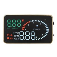 ทบทวน X6 3 Universal Obd2 Car Hud Gps Head Up Display Overspeed Warning System Intl