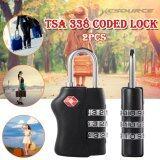 ราคา Xcsource Tsa กุญแจล็อกรหัส กุญแจกระเป๋าเดินทาง 2 ชิ้น เป็นต้นฉบับ