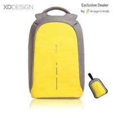 ขาย Xd Design กระเป๋าเป้นิรภัยแล็ปท็อป Bobby Compact สีเหลือง Xd Design ออนไลน์