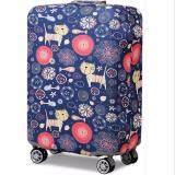 ราคา ผ้าคลุมกระเป๋าเดินทางแบบยืด หูหิ้วซ้ายขวาล่างมีซิป ผ้าหนา เวอร์ชั่นใหม่ลายสีสัน Xl29 32 Unbranded Generic ออนไลน์